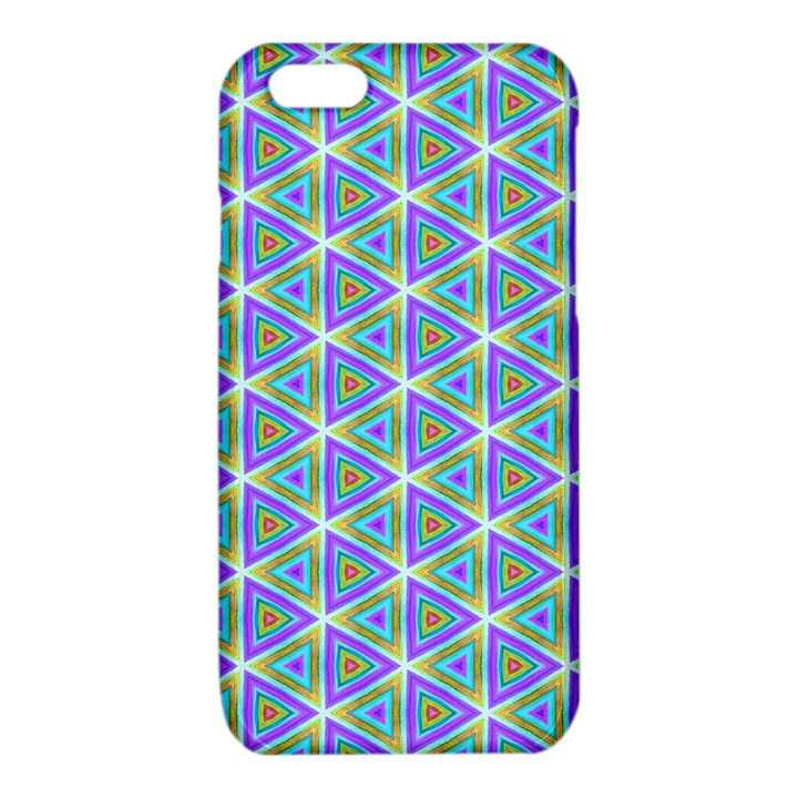 Colorful Retro Geometric Pattern iPhone 6/6S TPU Case