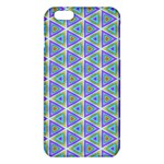 Colorful Retro Geometric Pattern iPhone 6 Plus/6S Plus TPU Case Front