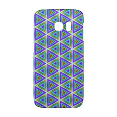 Colorful Retro Geometric Pattern Galaxy S6 Edge