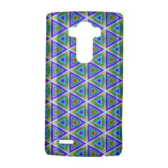 Colorful Retro Geometric Pattern LG G4 Hardshell Case