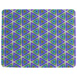 Colorful Retro Geometric Pattern Jigsaw Puzzle Photo Stand (Rectangular) Front