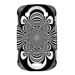 Black And White Ornamental Flower Bold Touch 9900 9930