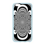 Black And White Ornamental Flower Apple Seamless iPhone 6/6S Case (Color) Front