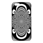 Black And White Ornamental Flower iPhone 6/6S TPU Case Front