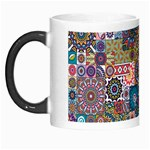 Ornamental Mosaic Background Morph Mugs Left