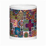 Ornamental Mosaic Background Morph Mugs Center