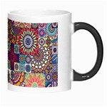 Ornamental Mosaic Background Morph Mugs Right