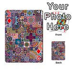 Ornamental Mosaic Background Playing Cards 54 Designs  Front - Diamond2