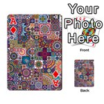 Ornamental Mosaic Background Playing Cards 54 Designs  Front - DiamondA