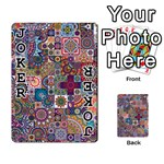 Ornamental Mosaic Background Playing Cards 54 Designs  Front - Joker1