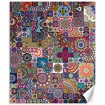 Ornamental Mosaic Background Canvas 8  x 10  10.02 x8 Canvas - 1