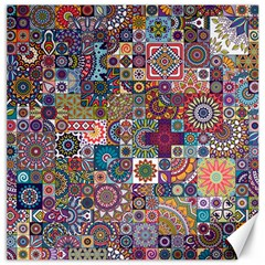 Ornamental Mosaic Background Canvas 12  X 12