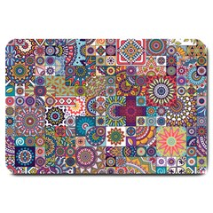 Ornamental Mosaic Background Large Doormat