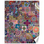 Ornamental Mosaic Background Canvas 11  x 14   14 x11 Canvas - 1