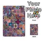Ornamental Mosaic Background Multi-purpose Cards (Rectangle)  Back 1