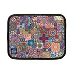 Ornamental Mosaic Background Netbook Case (Small)  Front