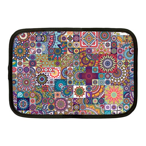 Ornamental Mosaic Background Netbook Case (Medium)