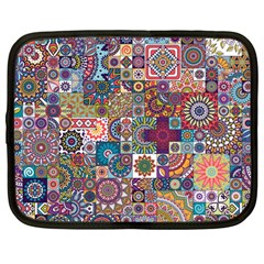 Ornamental Mosaic Background Netbook Case (large)