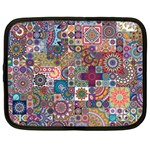 Ornamental Mosaic Background Netbook Case (Large) Front