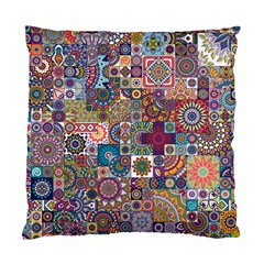Ornamental Mosaic Background Standard Cushion Case (one Side)