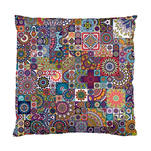 Ornamental Mosaic Background Standard Cushion Case (Two Sides)