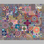 Ornamental Mosaic Background Canvas 14  x 11  14  x 11  x 0.875  Stretched Canvas