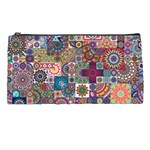 Ornamental Mosaic Background Pencil Cases Front