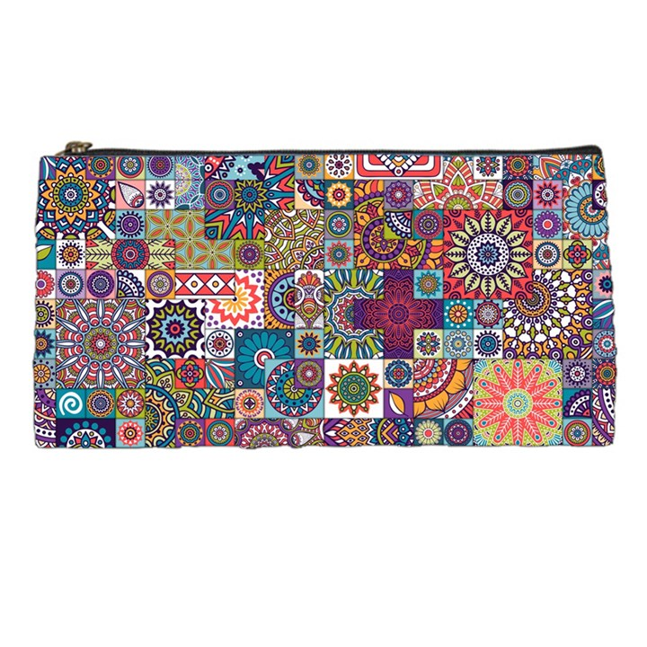 Ornamental Mosaic Background Pencil Cases