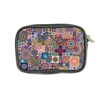 Ornamental Mosaic Background Coin Purse Back