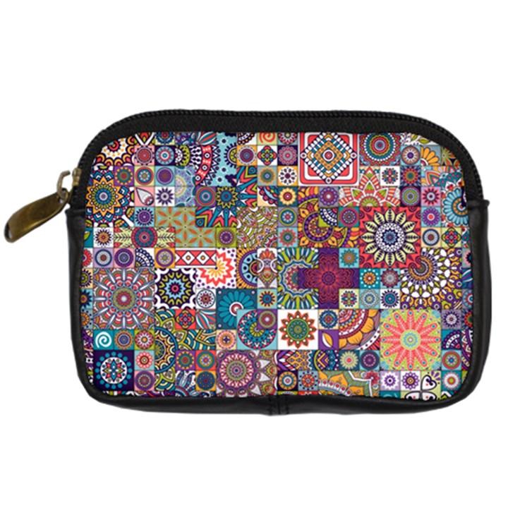 Ornamental Mosaic Background Digital Camera Cases