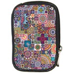 Ornamental Mosaic Background Compact Camera Cases Front