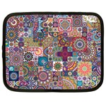 Ornamental Mosaic Background Netbook Case (XL)  Front
