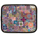 Ornamental Mosaic Background Netbook Case (XXL)  Front