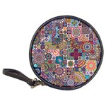 Ornamental Mosaic Background Classic 20-CD Wallets Front