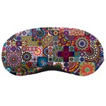Ornamental Mosaic Background Sleeping Masks Front