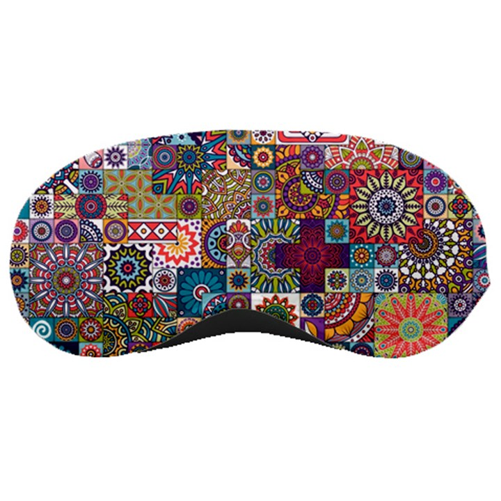 Ornamental Mosaic Background Sleeping Masks