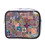 Ornamental Mosaic Background Mini Toiletries Bags Front