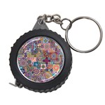 Ornamental Mosaic Background Measuring Tapes Front