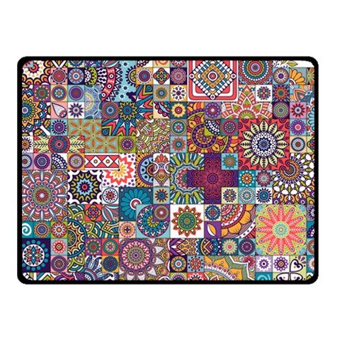 Ornamental Mosaic Background Fleece Blanket (Small)