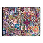 Ornamental Mosaic Background Fleece Blanket (Small) 50 x40 Blanket Front