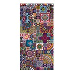 Ornamental Mosaic Background Shower Curtain 36  x 72  (Stall)  36 x72 Curtain