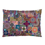 Ornamental Mosaic Background Pillow Case (Two Sides) Back