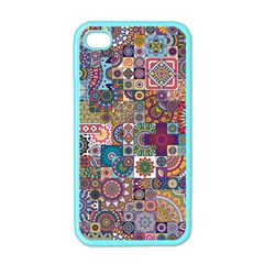 Ornamental Mosaic Background Apple iPhone 4 Case (Color)