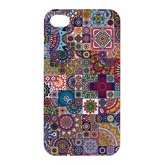 Ornamental Mosaic Background Apple Iphone 4/4s Hardshell Case