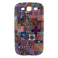 Ornamental Mosaic Background Samsung Galaxy S III Hardshell Case