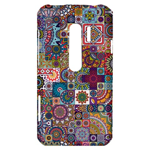 Ornamental Mosaic Background HTC Evo 3D Hardshell Case