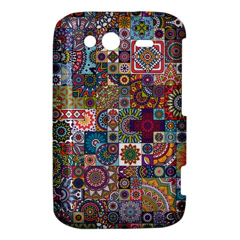 Ornamental Mosaic Background HTC Wildfire S A510e Hardshell Case