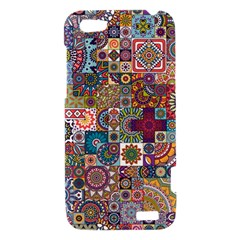 Ornamental Mosaic Background HTC One V Hardshell Case