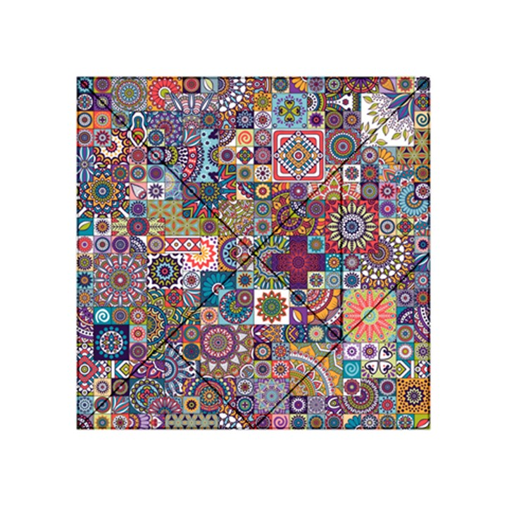 Ornamental Mosaic Background Acrylic Tangram Puzzle (4  x 4 )