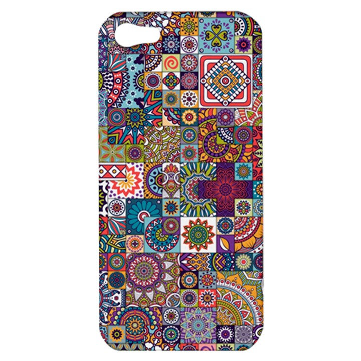 Ornamental Mosaic Background Apple iPhone 5 Hardshell Case